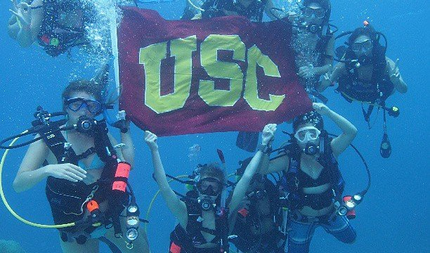 USC is among the best party schools in the U.S.