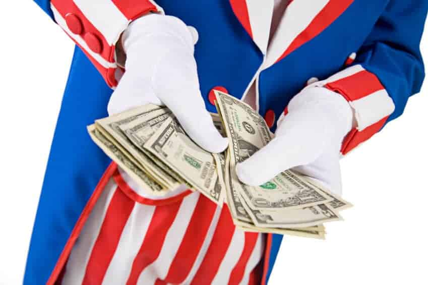 Uncle Sam seems to be the only one who knows what taxes pay for.