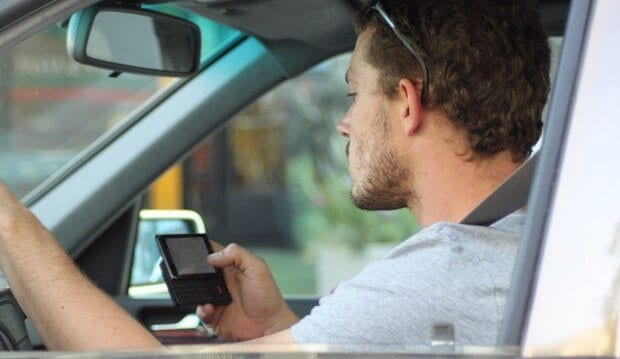 Hands-free texting is a bad idea.
