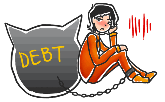 Can you go to jail for not paying a debt?