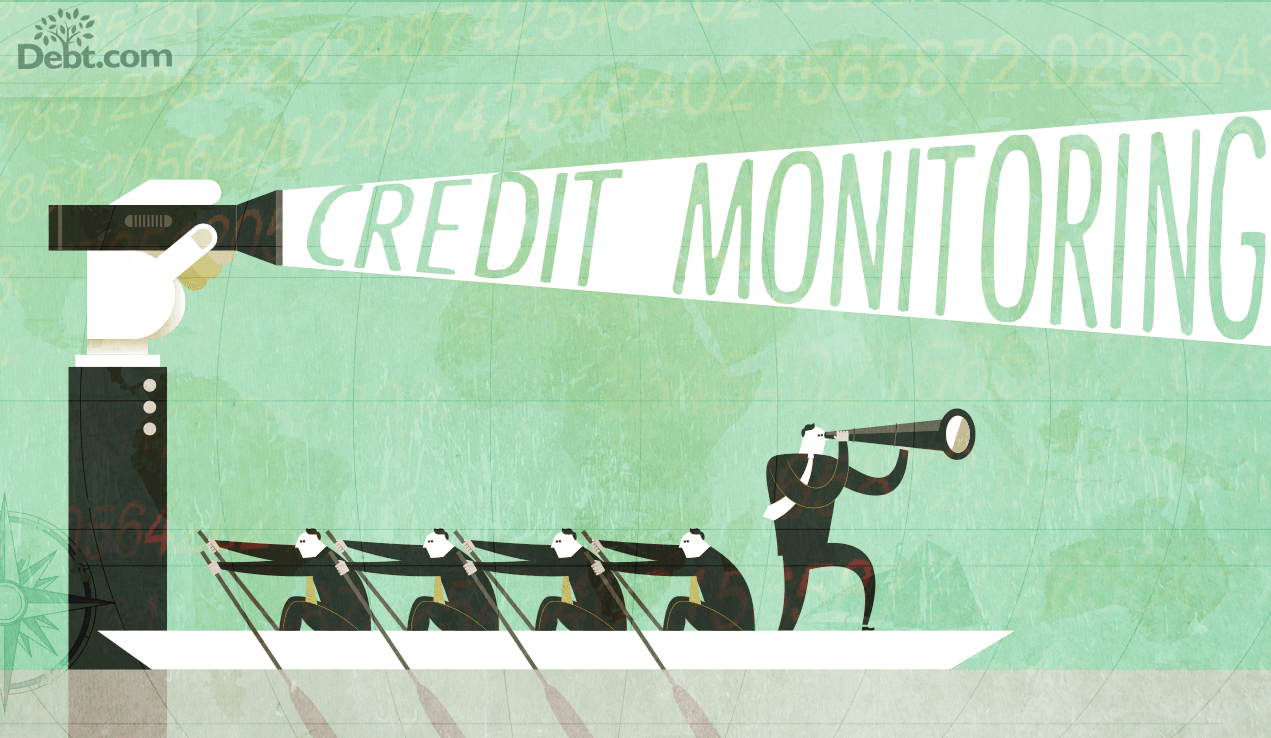Credit monitoring can move you forwards towards your goal