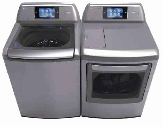 LG smart washer and dryer