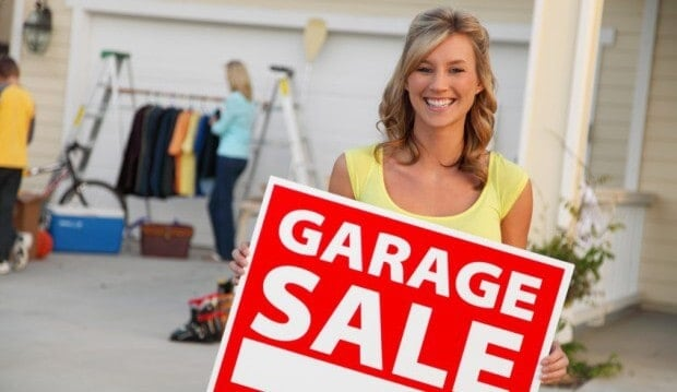 How to save on garage sales