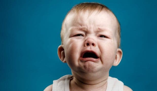 baby crying because of how much debt it will be in once it's done with college