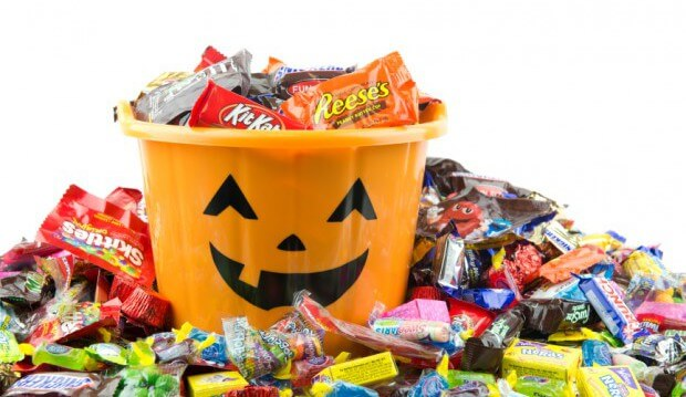 Halloween candy contest