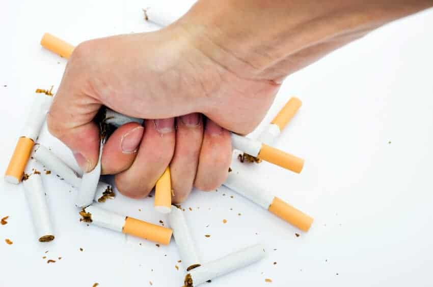 How to stop smoking contest