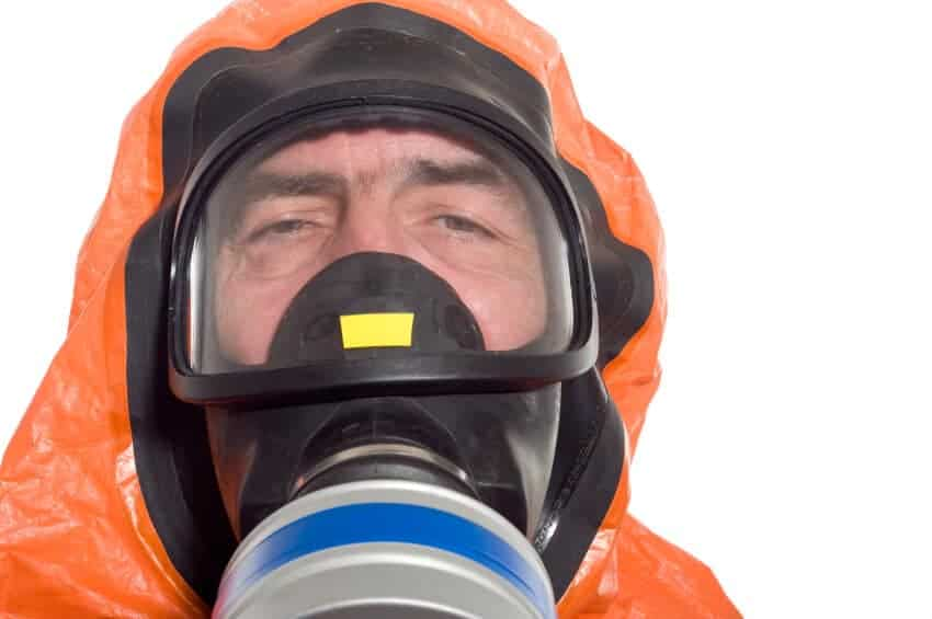 Hazmat suit for Ebola