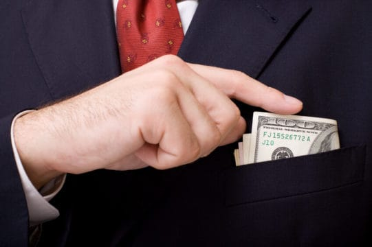 Can a debt collector take money out of your pocket?