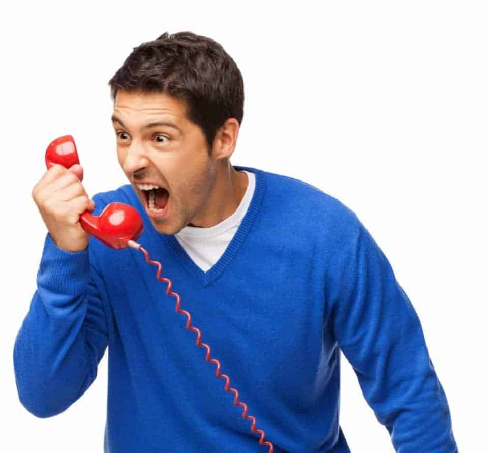 Don't get angry on a debt collection call. Learn how to deal with debt collectors
