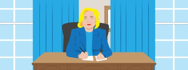 The first 100 days of Hillary Clinton's presidency