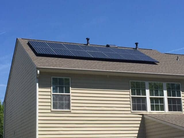 Placing solar panels on a residential home is a great way to save money on energy bills, if you can afford installation costs