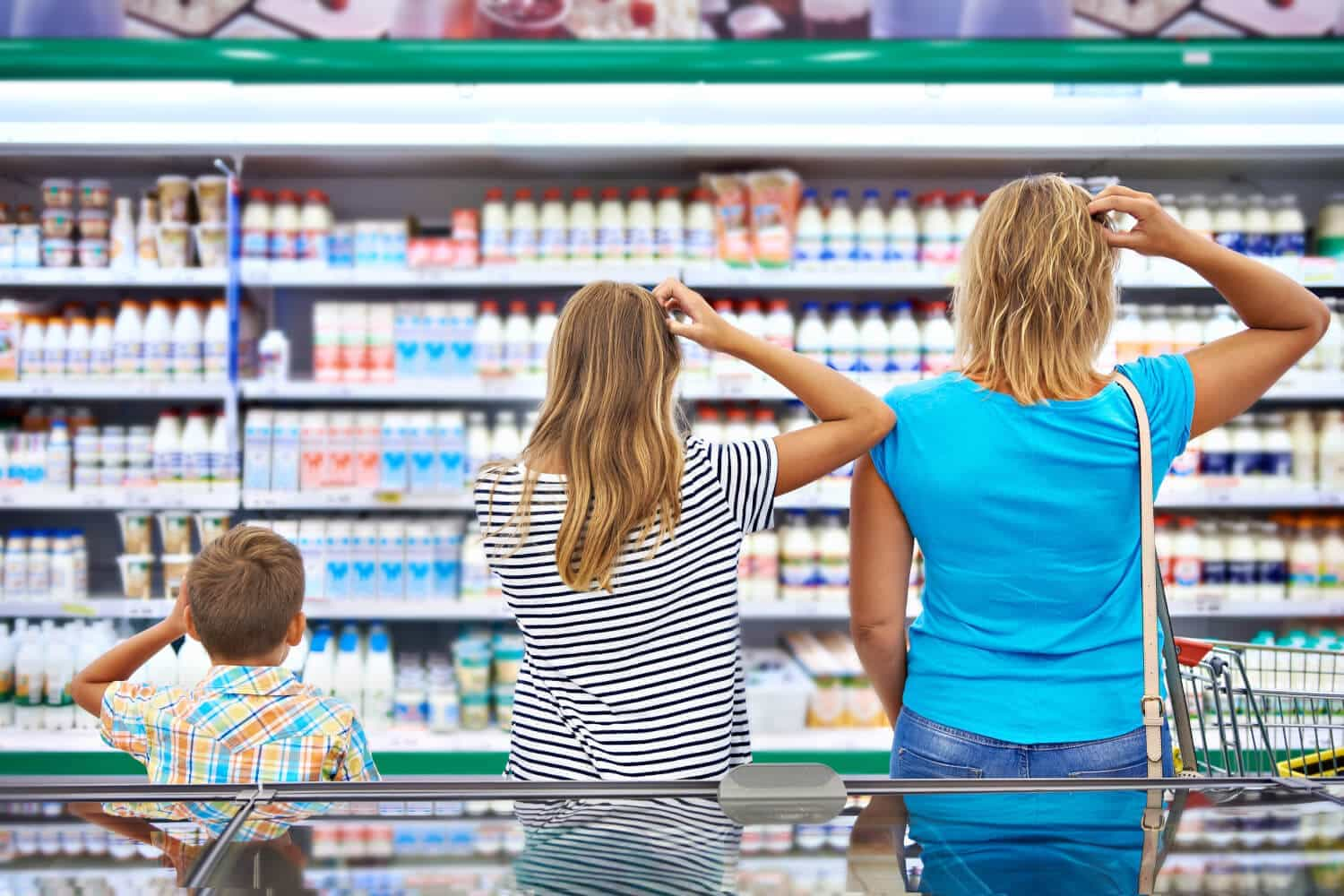 Families unsure about how to save money at the store are also unsure about how to teach kids money
