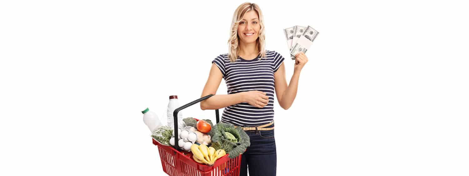 Woman shows how you can save money on groceries