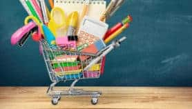 Fill your back to school shopping cart