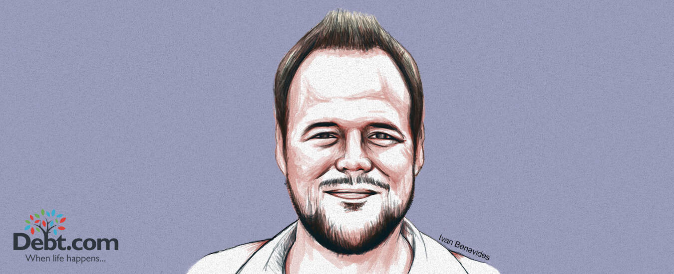 A portrait of J.R. Duren, who shared his debt story with Debt.com