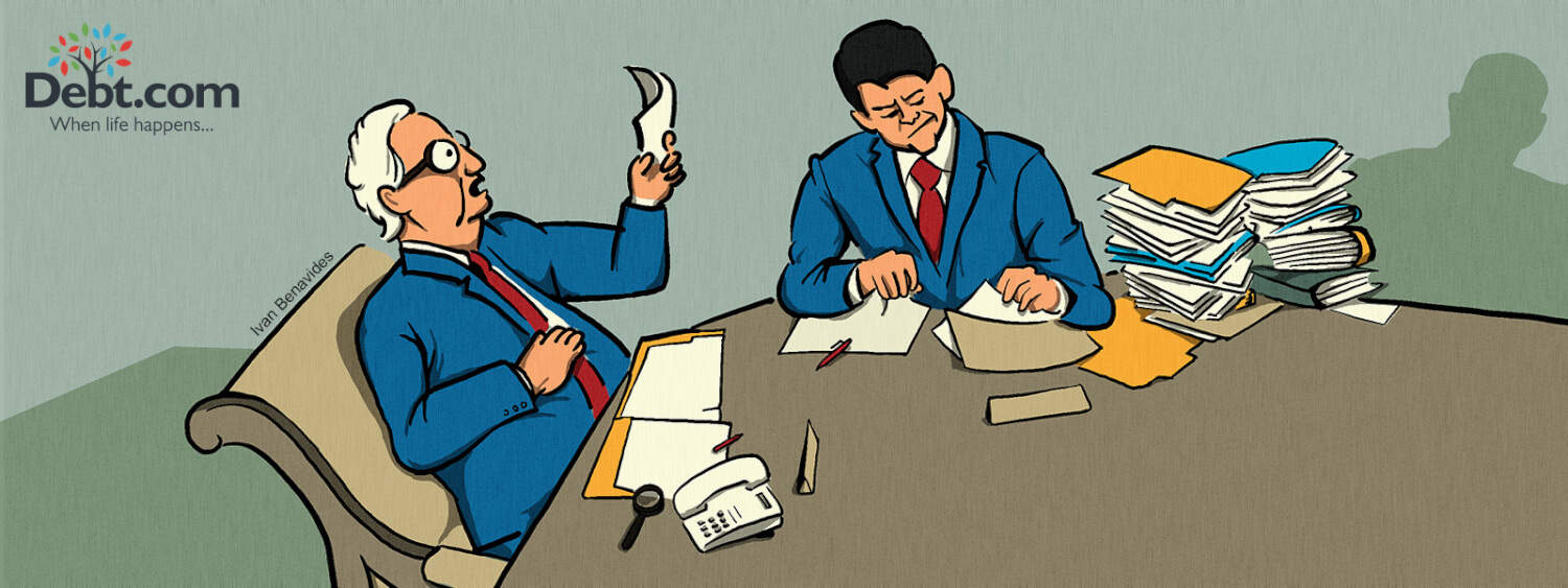 Congressional leaders Paul Ryan and Mitch McConnell look at student loan proposals (illustrated)