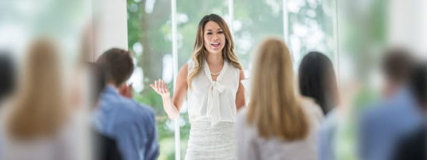 A millennial woman explains credit to her peers