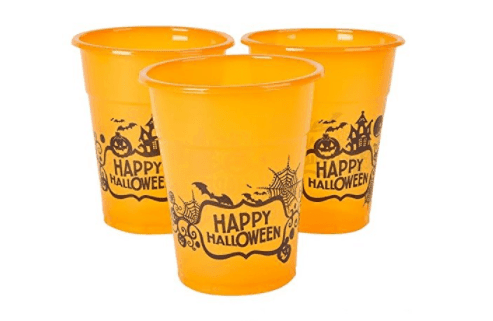 Halloween, cups, party