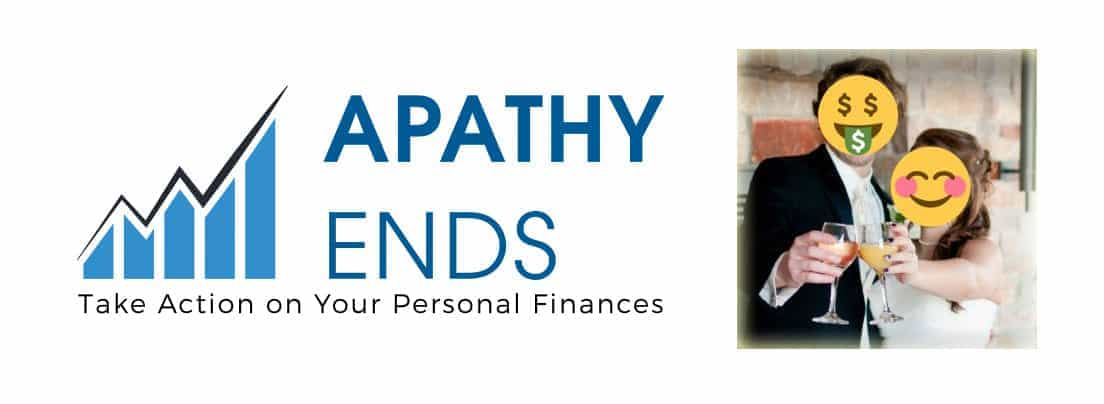 The Apathy Ends personal finance blog logo