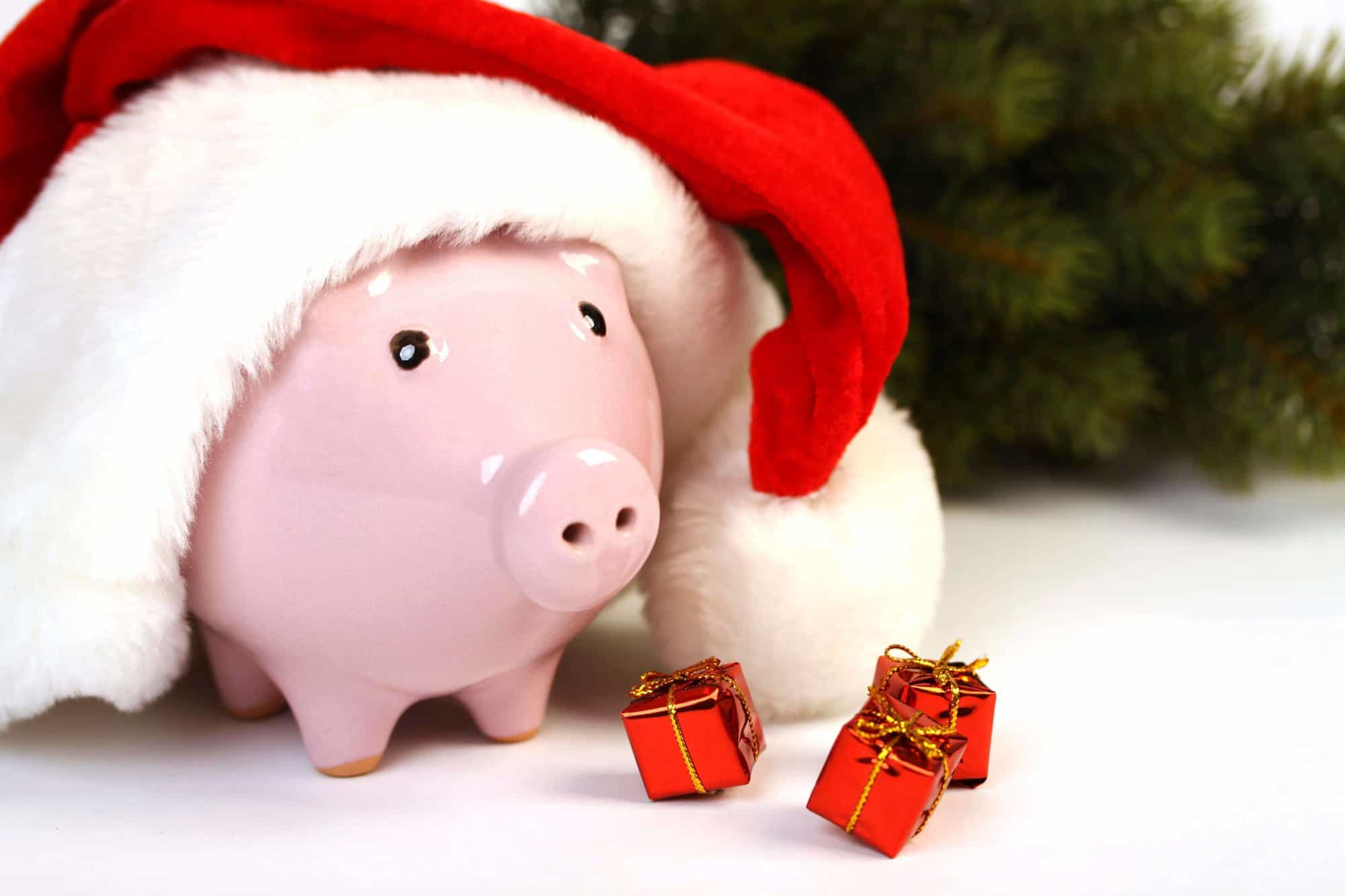 Keep gifts small and reasonable to budget and save money for the winter holidays