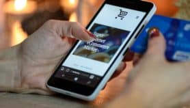 Mobile shopping is becoming increasing popular on Cyber Monday and Black Friday