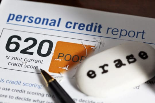 If you have a 620, you can qualify for a mortgage, but it is better to erase your bad credit score
