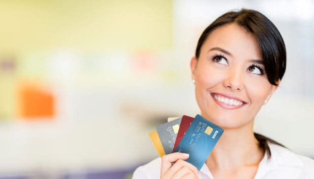 Think carefully when deciding what types of credit cards you need