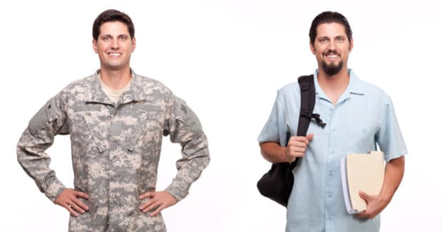 Serving in the military may qualify you for military student loan forgiveness