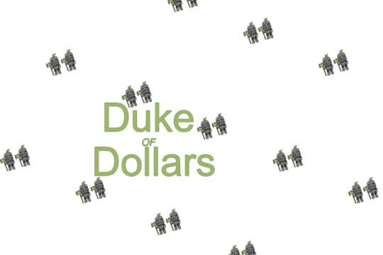 The Duke of Dollars logo