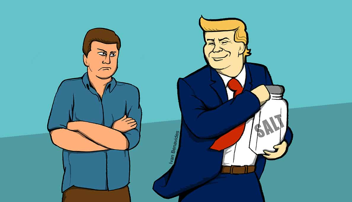Donald Trump takes the SALT deduction away from Democrats (illustrated)