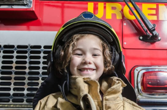 child of first responder is happy about getting loan forgiveness