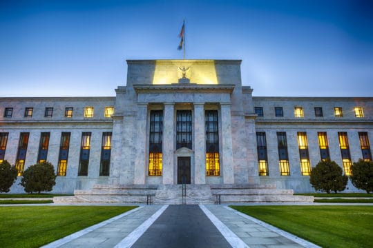 The Federal Reserve building in Washington, D.C raising rates