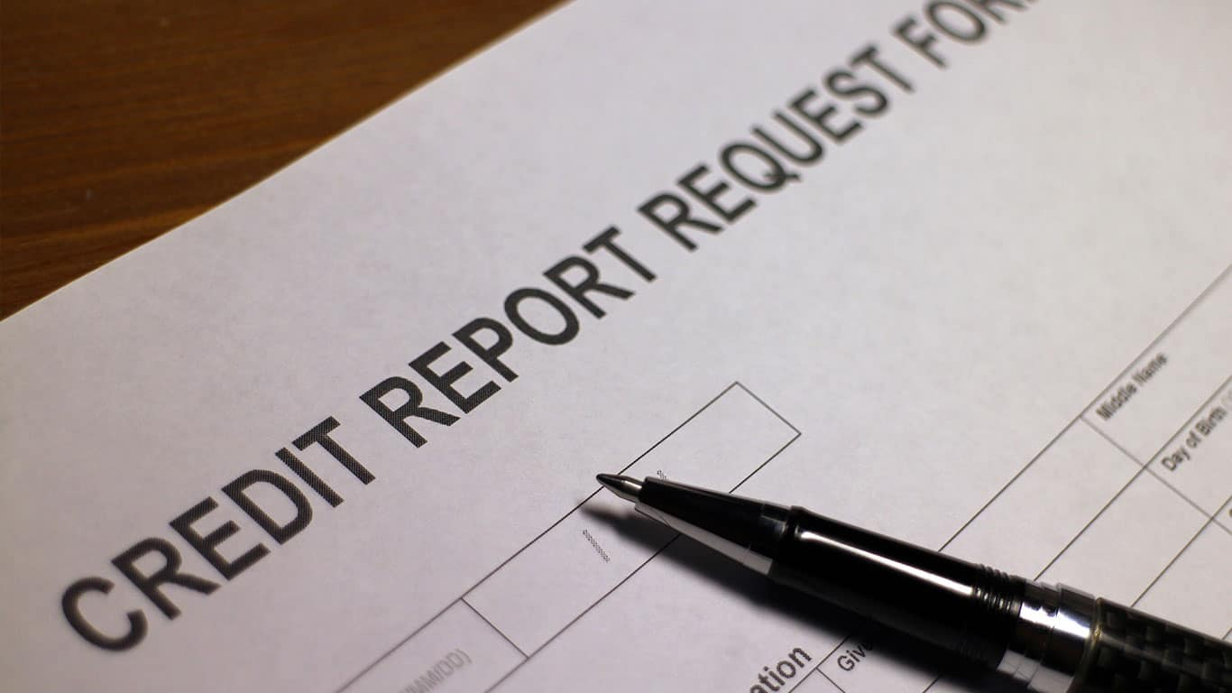 Credit Report Request Form