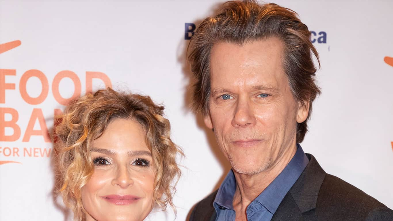 Kyra Sedgwick and Kevin Bacon attend the Food Bank for New York City's Can Do Awards Dinner at Cipriani Wall Street, Manhattan