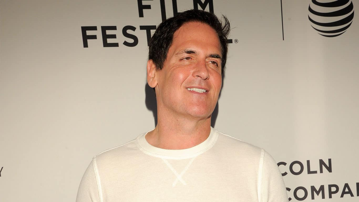 Mark Cuban attends 'The Clapper' Premiere during the 2017 Tribeca Film Festival at SVA Theatre