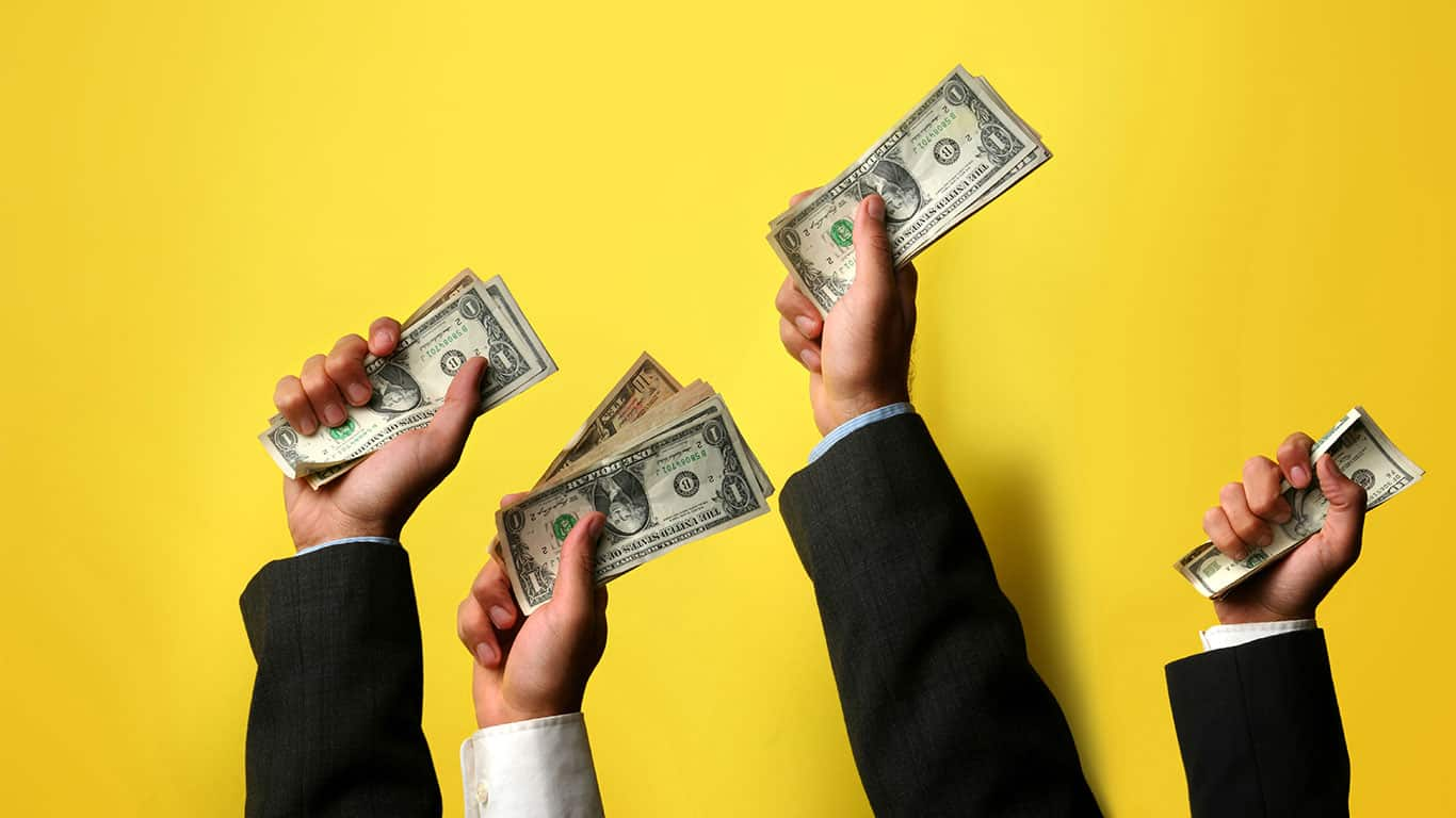 Buyers offering their cash for a raise