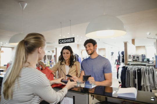 Store credit cards often provide rewards at checkout