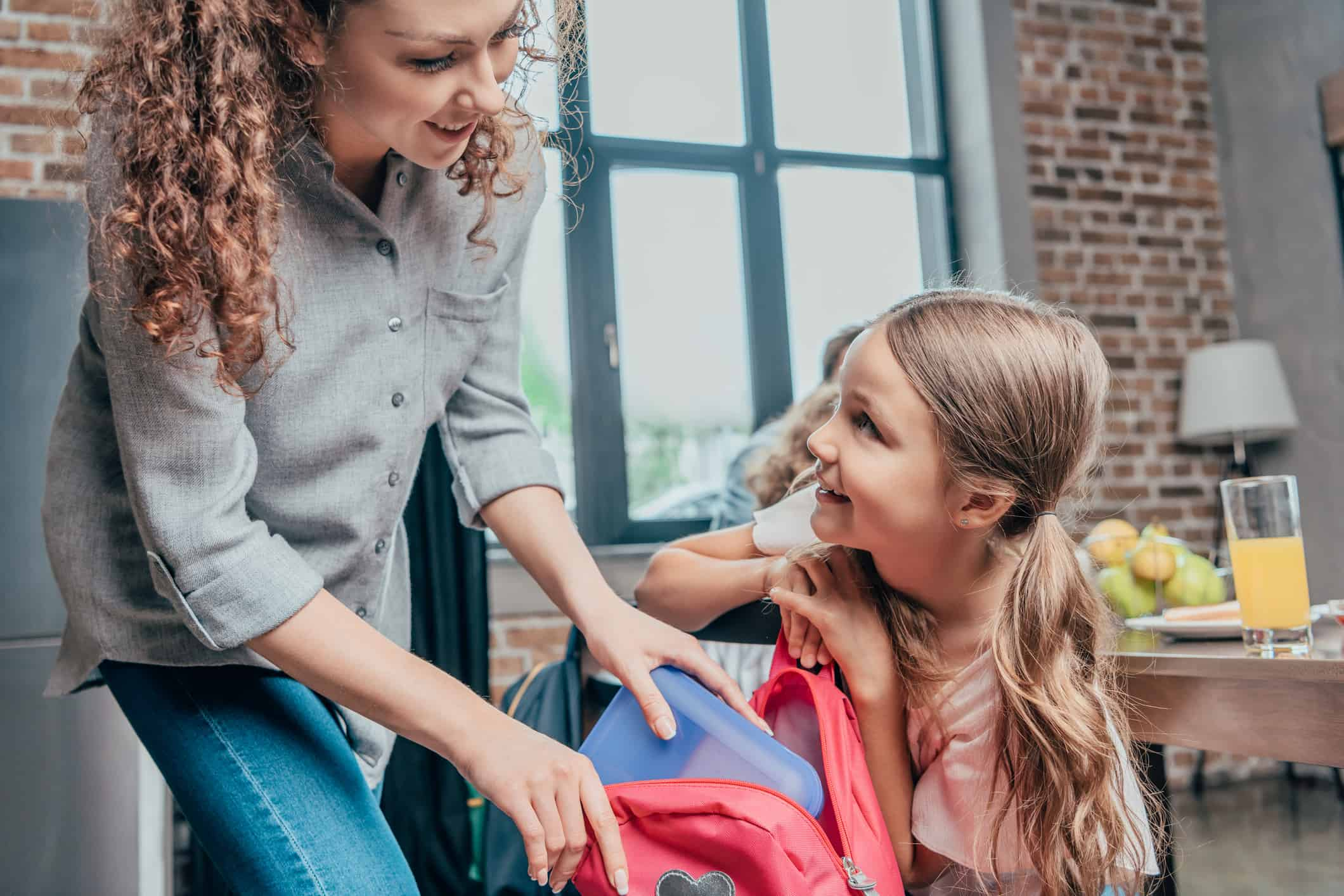 Woman takes daughter back to school shopping