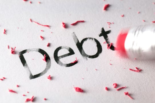Erasing Debt with accredited debt relief