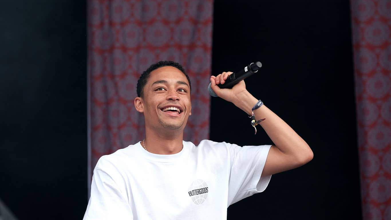 British hip hop singer and rapper Loyle Carner on stage at Common People Southampton Festival