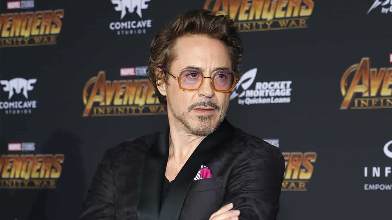 Robert Downey Jr. at the premiere of Disney and Marvel's 'Avengers: Infinity War' held at the El Capitan Theatre