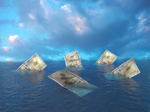 Sinking dollars at sea looking for best debt relief options