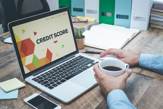 Credit Score affects interest rates