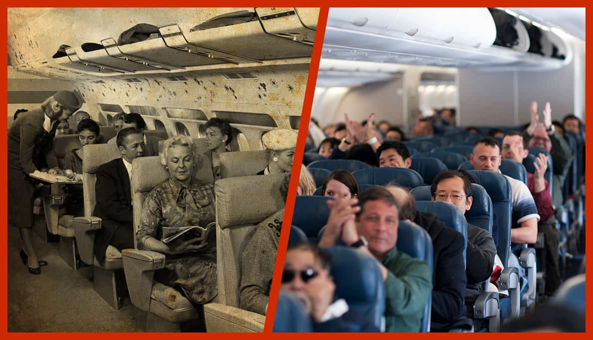 Passengers on a Commercial Airline