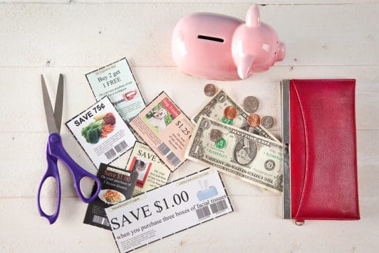 Coupons Equal Money For The Piggy Bank
