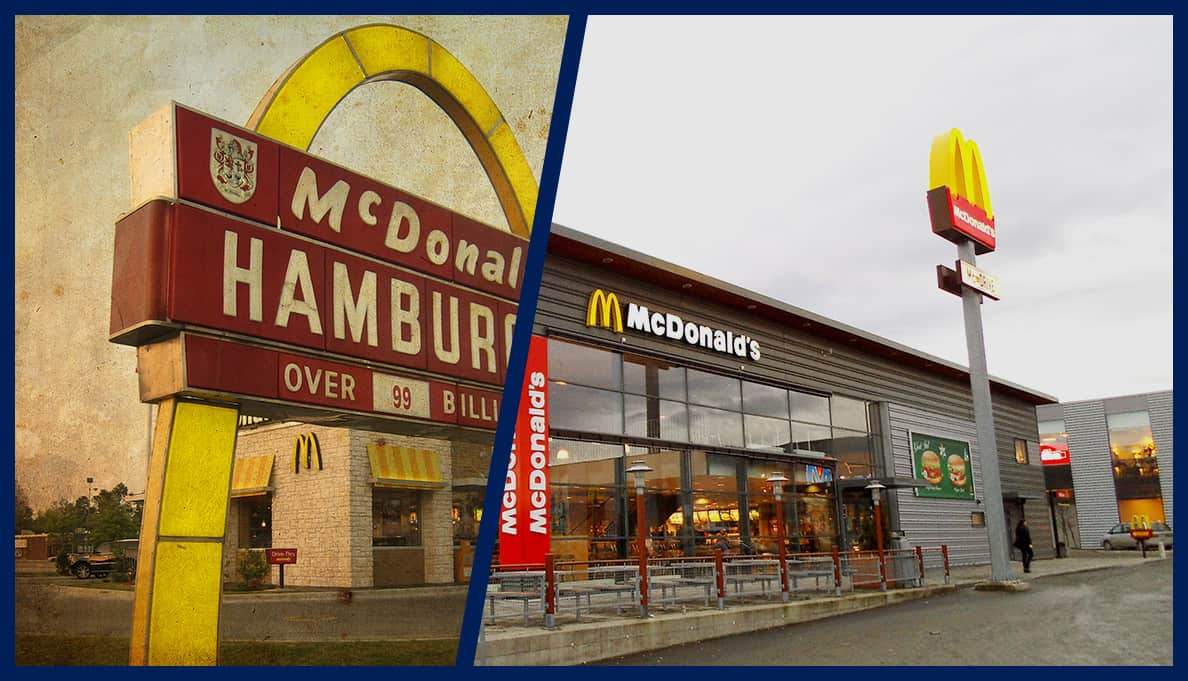 The Evolution of the McDonald's Fast-food Brand