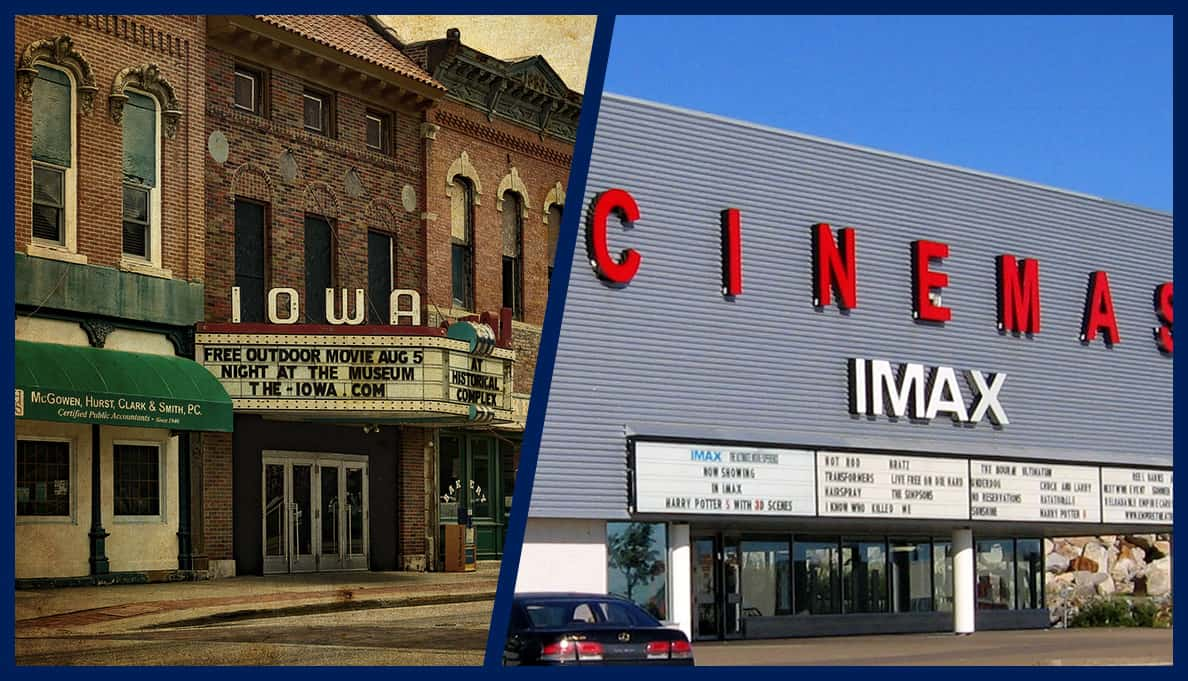 The Evolution of Movie Theaters