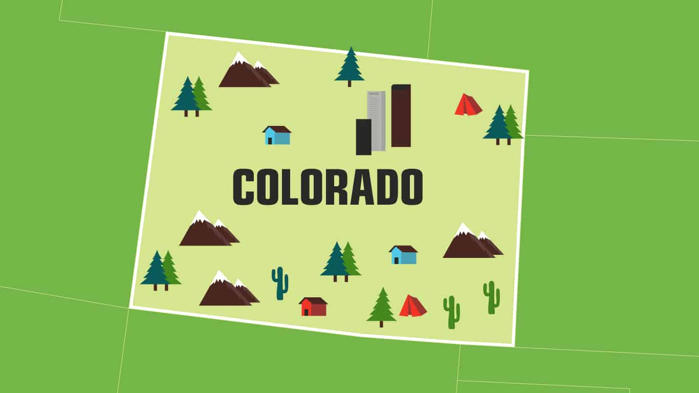 Illustration of Colorado.