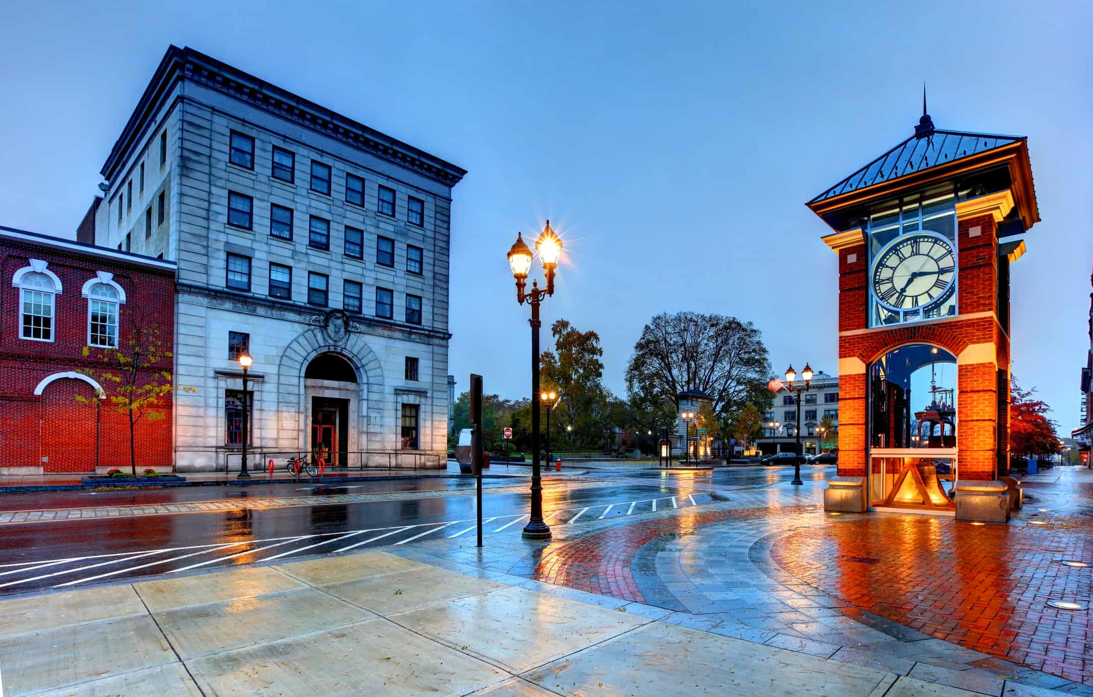 Concord is the capital city of the U.S. state of New Hampshire and the county seat of Merrimack County.