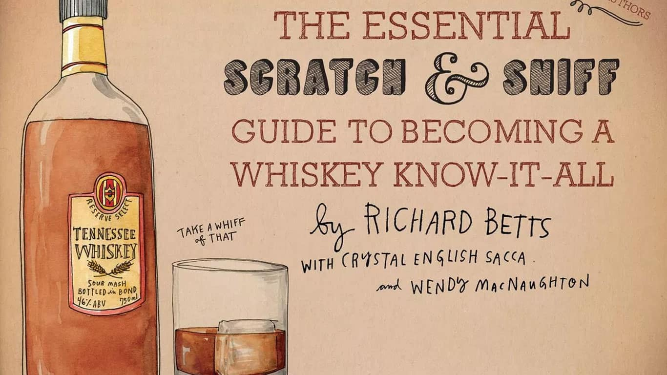 Whiskey Scratch and Sniff Book